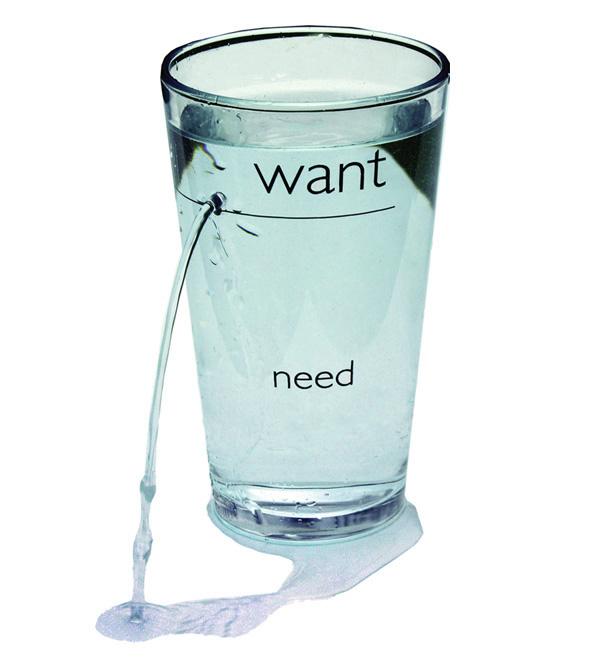 Желание срещу нужда